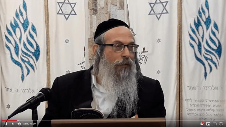 הרב אליהו גודלבסקי – לשמוח במה שזכינו